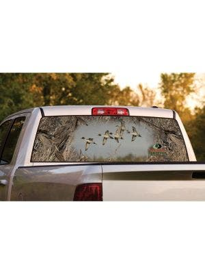 Pintail Flock Window Graphic