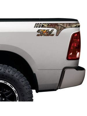 Wedge Quarter Panel Graphic 4x4