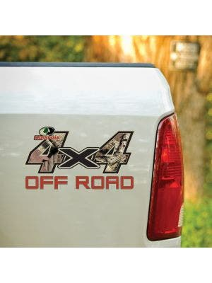 4x4 Off Road Style Mossy Oak® Camo Decal