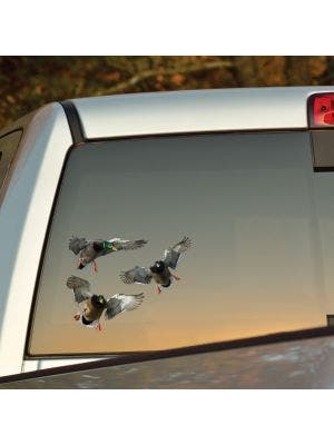 Mallard - 3 Drakes Cut-out Decal