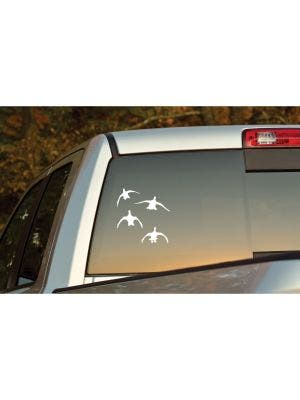 Mallard Flock (Four) Decal