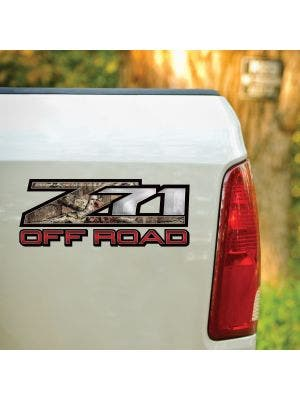 z71 Off Road Mossy Oak® Camo Decal