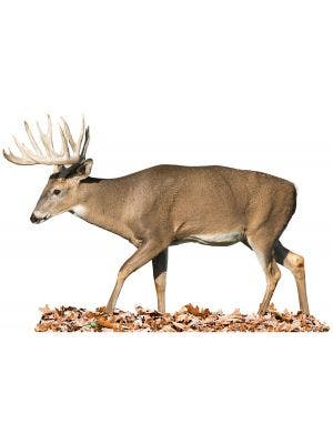 Walking Left Whitetail - Cutout