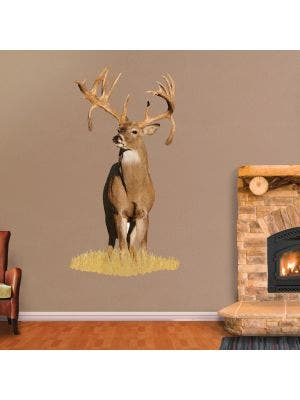 Double Drop Tine Buck - Cutout