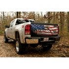 Tailgate Graphic with Starry Night American Flag