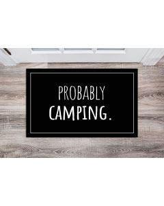 Probably Camping, Fishing, or Hunting Doormats