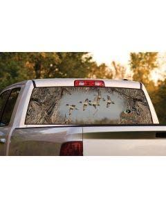 Pintail Flock Window Graphic