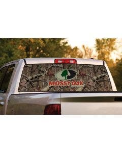 Window Graphic with Mossy Oak® Camo & Logo
