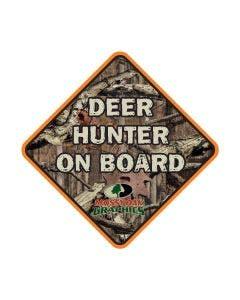 Deer Hunter on Board Decal