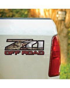 z71 Off Road Mossy Oak® Camo Decal