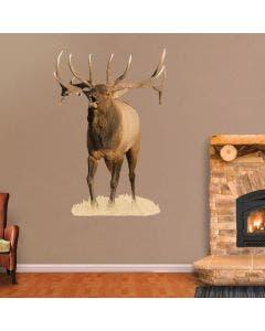 Bugling Bull Elk - Cutout