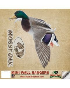 Mossy Oak® Graphics Mallard Landing Left - Mini Cutout