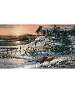 Peaceful Evening Pheasants Wall Graphic