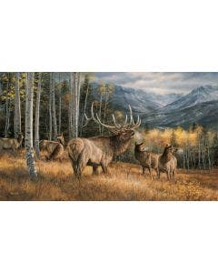 Meadow Music Elk Wall Graphic