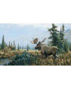 Showdown Moose Wall Graphic