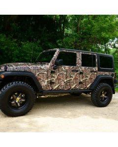 Mossy Oak® Camo Vinyl Jeep Wrap
