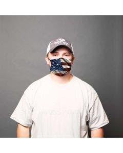 Patriotic American Flag Face Masks