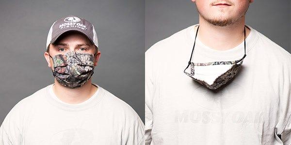 Mossy Oak Camo Face Mask