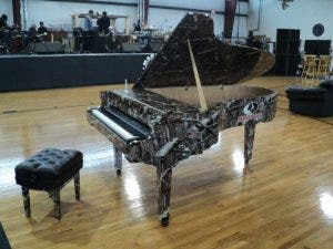 Kid Rock's Camouflage Piano